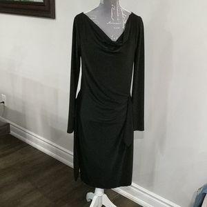 Cassis classic black dress